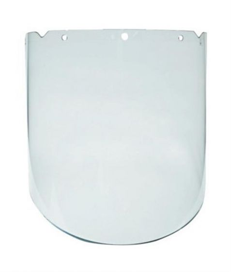 1002312 SV9PC Clear Polycarbonate Visor 230mm Supplied Without Browguard Headband each-1002312-Camlab