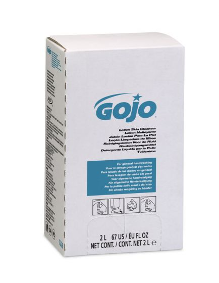 7228-04 GOJO  Pink 4 x 2000ml Hand Cleanser Refill Pack