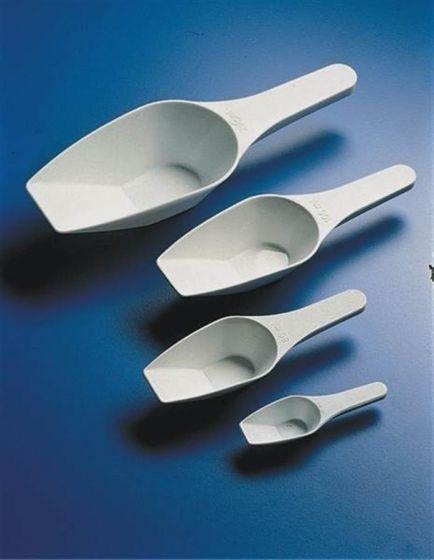 Measuring scoops, polypropylene, foodsafe