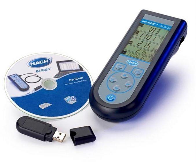 Sension+  MM150DL multi pH Redox Conductivity TDS and Temp meter Datalogging 500 results-LPV4000DL.98.02-Camlab