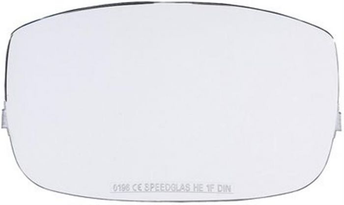Outer protection plate for Speedglas 9000 Series Welding Helmets (Heat Resistant) Pack of 10-427071-Camlab