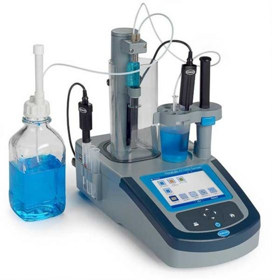 TitraLab AT1000 Series Potentiometric Titrator, 1 Syringe-AT1102.82-Camlab