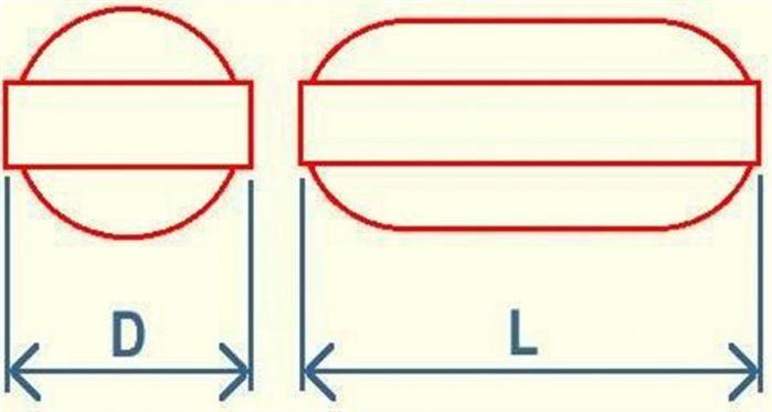 Plain PTFE Magnetic Stirring Bars