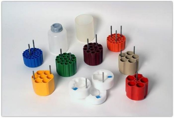 Adapters for use with 750ml Falcon Buckets and 1000ml Cellsep Bucket