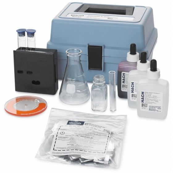 Hardness and Iron Test Kit, Model HA-77, Color Disc-202300-Camlab