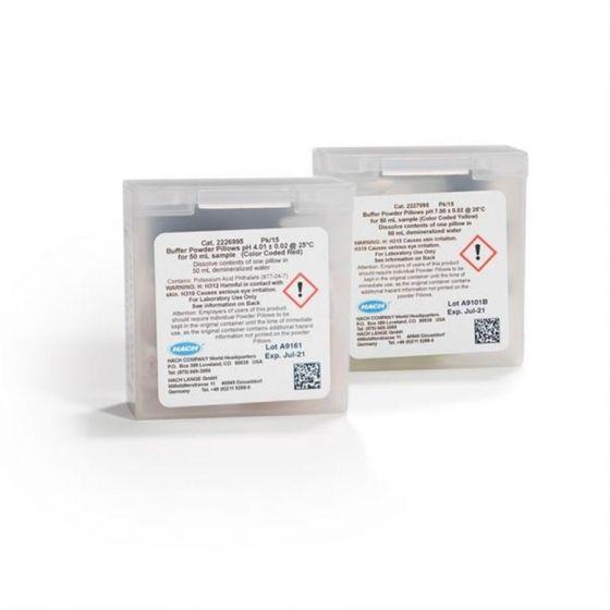 Buffer Powder Pillows pack of pH 4.01 x10 and pH 7.0 x10