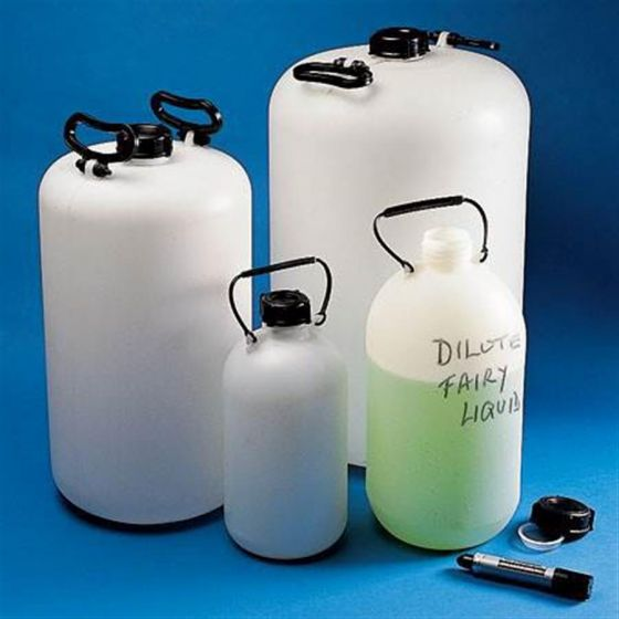 Bottle Carboy Normal Neck HDPE With Carrying Handle 5L