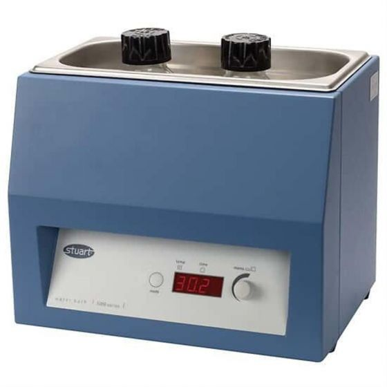Water Bath Unstirred 6Ltr 100°C ±0.2°C With Pre Set Digital Thermostat