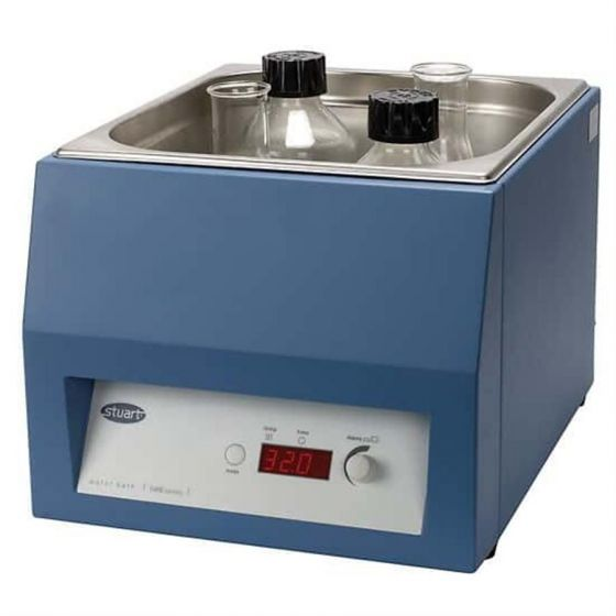 Water Bath Unstirred 15Ltr 100°C ± 0.2°C With Pre Set Digital Thermostat