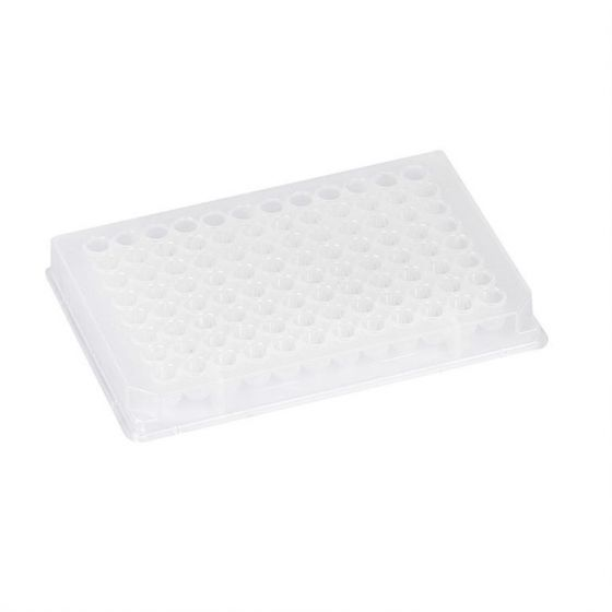 96-well micro test plates V-bottom PS non-sterile carton of 100
