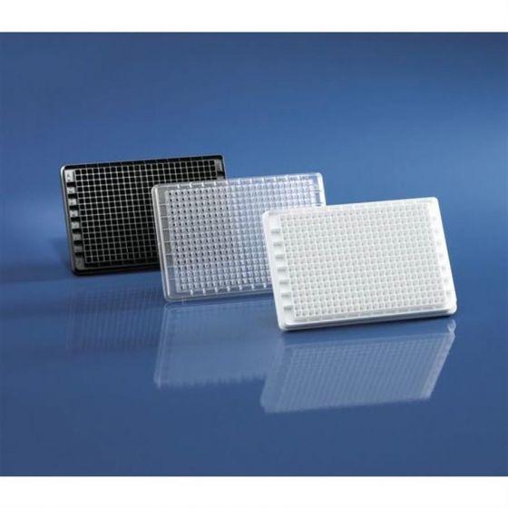 BRANDplates 384 pureGrade PS transp. F-bottom non-sterile Pack of 50 pieces-781620-Camlab