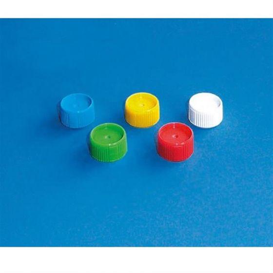 Screw cap (PP) for micro tubes for bulk screw cap blue Pack of 1000-780741-Camlab