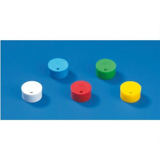 Cap insert for cryogenic tubes PP blue Pack of 2 x 500-114851-Camlab