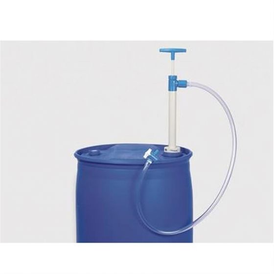 Barrel Pump PP 1500mm discharge hose and stopcock-5600-1502-Camlab