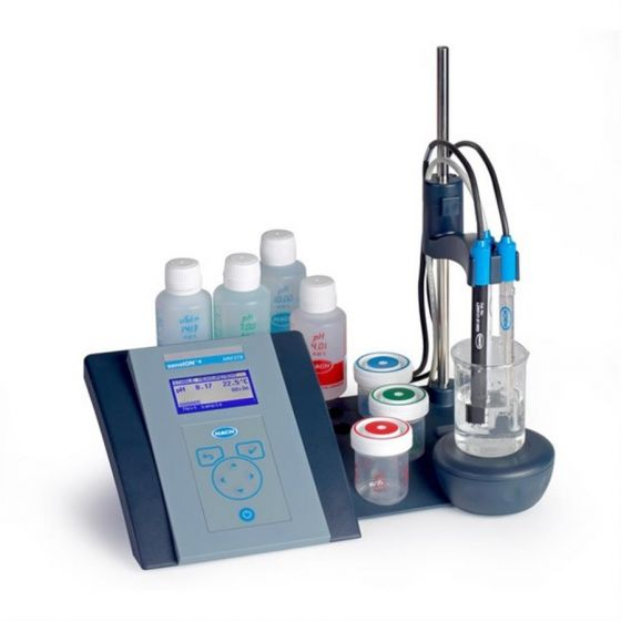 sensION+ MM378 GLP Laboratory pH/ISE/EC/DO Kit Dual Channel with probes-LPV4160.98.0002-Camlab