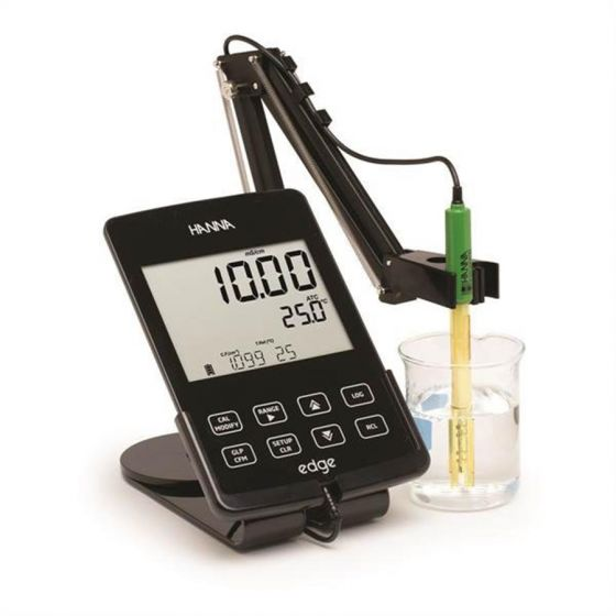 Edge Multiparameter Hybrid meter for pH, EC or DO - Conductivity kit
