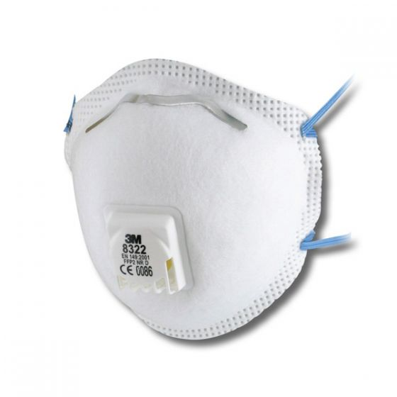 3M 8322 FFP2 Valved Dust/Mist Respirator -  Pack of 10