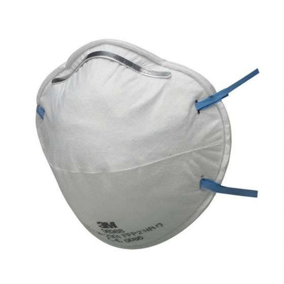 3M 8810 FFP2 Unvalved Dust/Mist Respirator - Pack of 20
