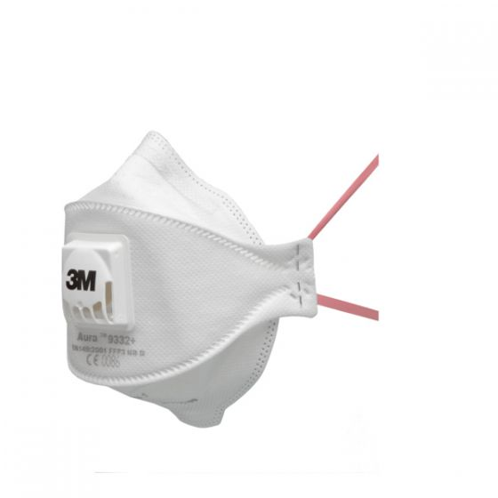 3M 9332+ Aura FFP3 Valved Dust/Mist Respirator - Pack of 10