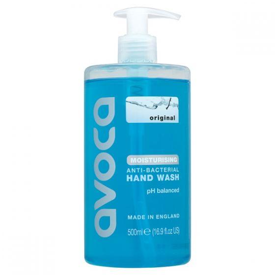 AVOCA500 Avoca Original Antibacterial Handwash - 6 x 500ml