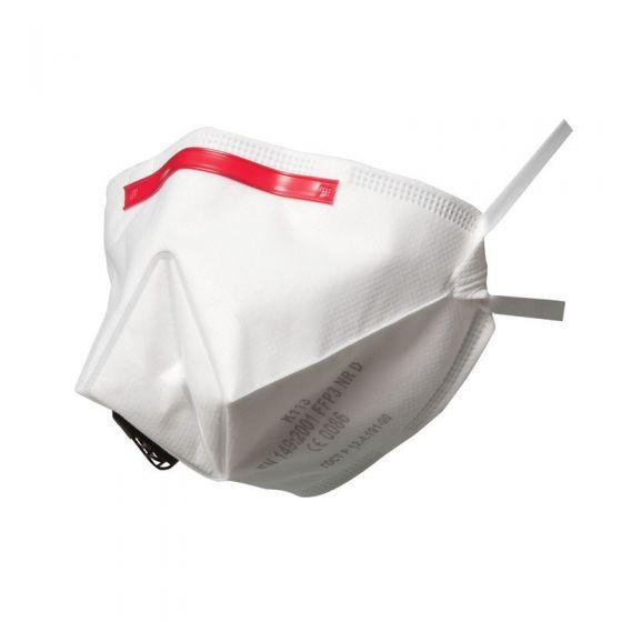 3M K113 FFP3 Fold-Flat Valved Dust/Mist Respirator - Pack of 5