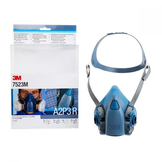 Ready-to-use 7500 Half Mask with filters kits
