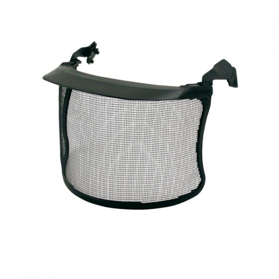 Black mesh visor polyamide 1.0 x 1.0mm peak Pack of 10
