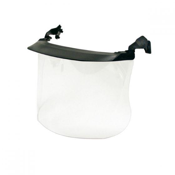 Clear visor cellulose acetate anti fog treatment 1mm peak Pack of 10