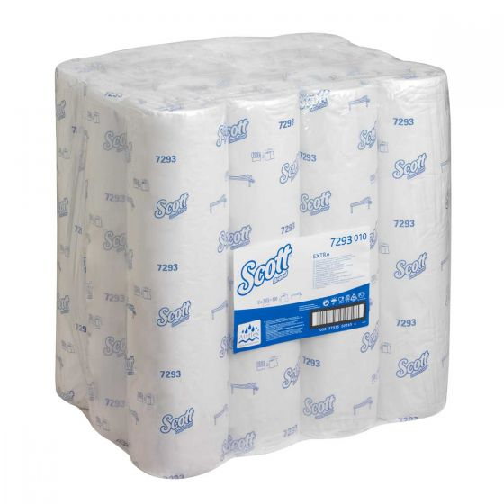 7293 SCOTT  EXTRA Couch Covers - White - 12 x 150 Sheets