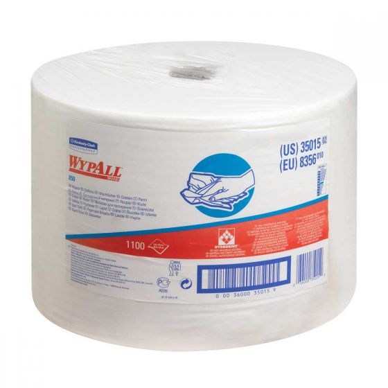 8356 WYPALL X50 Cloths - Large Roll - 1100 Sheets