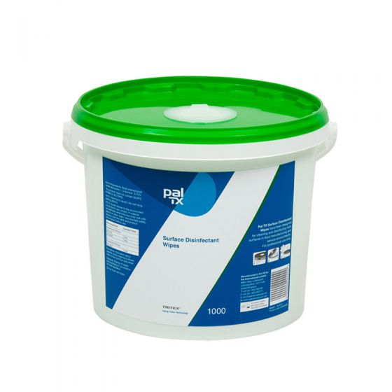 W131230 Pal TX Surface Disinfectant Wipes -1000 Sheet Bucket