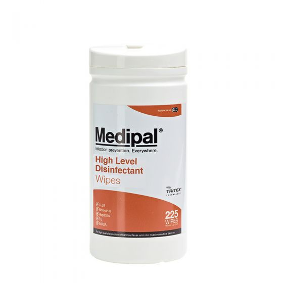 Medipal High Level Disinfectant Wipes