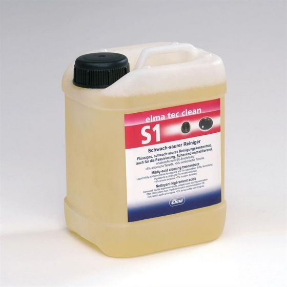 TEC CLEAN S1 mild acidic cleaner for corroded parts--Camlab