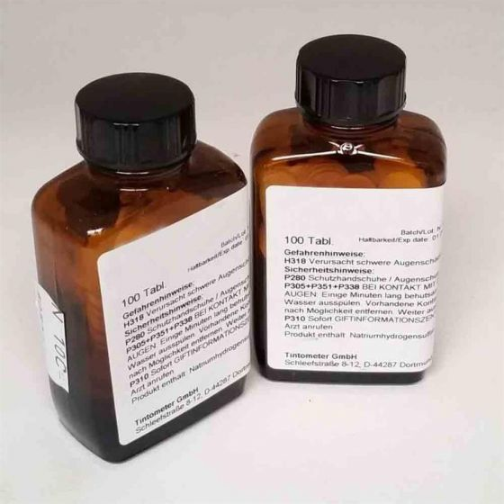 SULFIDE - tablet reagents