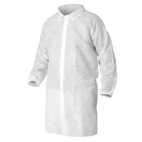 KLEENGUARD A10 Light Duty Visitor Coats
