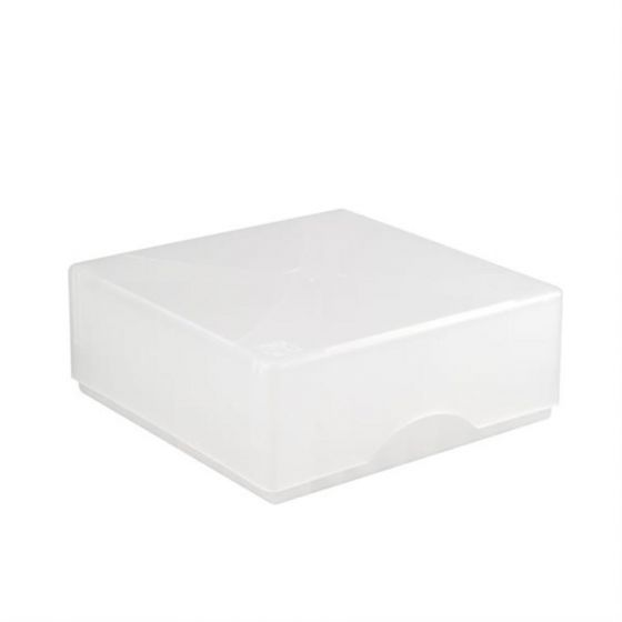 Cryo-Boxes PP grid 10 x 10 natural 133 x 133 x 50/75 mm combi-lid  Pack of 5-5320110-Camlab