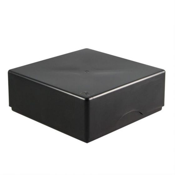 Cryo-Boxes PP grid 10 x 10 black 133 x 133 x 50/75 mm combi-lid uncoded Pack of 5-5320115-Camlab
