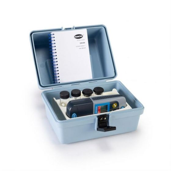 DR300 Pocket Colorimeter Aluminium with box (reagents for 100 tests)