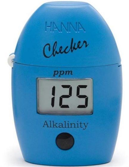 Hanna HI775 Alkalinity Checker photometer Colorimetric method, 25 tests