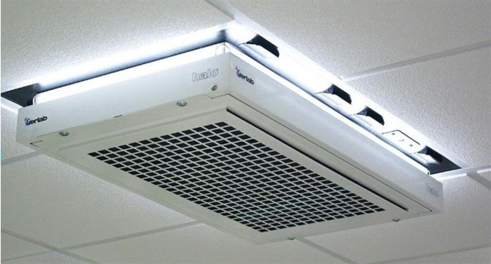 Ceiling Mounted Laboratory Grade Filtration Units--Camlab
