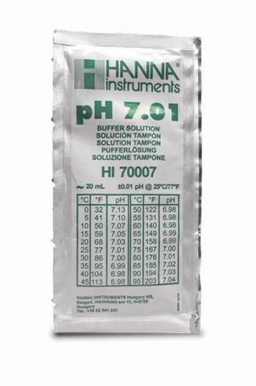 pH 7.01 buffer sachets 25 x 20ml each