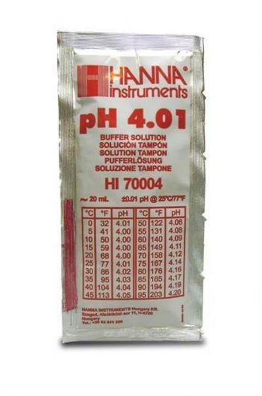 pH Buffer Solution Sachets