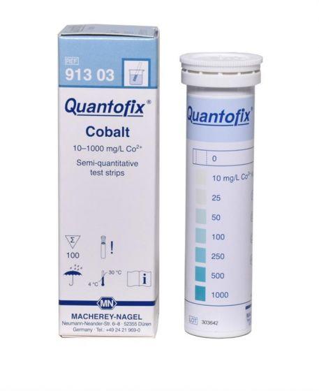 QUANTOFIX Cobalt box of 100 test sticks 6x95 mm
