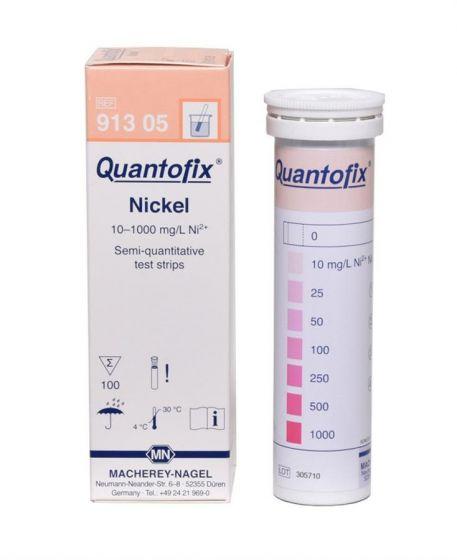 QUANTOFIX Nickel box of 100 test sticks 6x95 mm