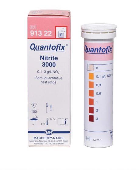 QUANTOFIX Nitrite 3000 box of 100 test sticks 6x95 mm