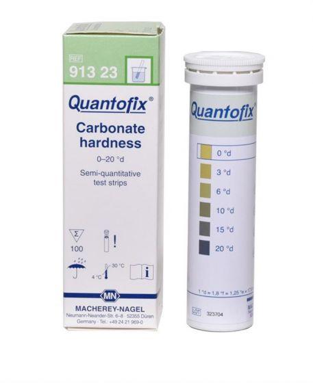 QUANTOFIX Carbonate Hardness box of 100 test sticks 6x95 mm