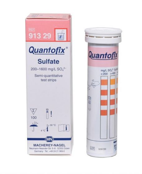 QUANTOFIX Sulphate pack of 100 test sticks 6x95mm
