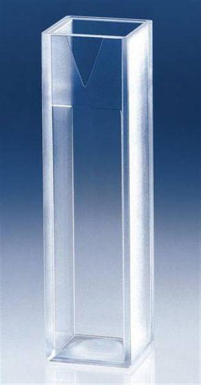 Brand Macro cuvette PLASTIBRAND PS filling volume min. 2.5 ml Pack of 100-camlab