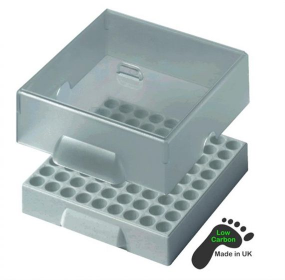 Camlab Plastics Clear Polycarb Lid For Labtower Rack Pack of 10