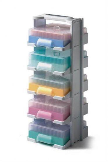 Camlab Plastics 5 Level Polycarb Labtower Set With Racks